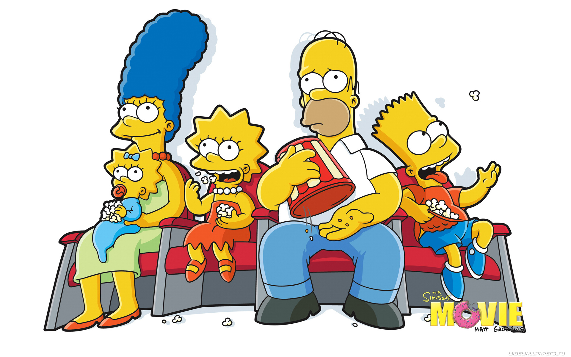 a comparison between the animated tv family the simpsons and a real life family